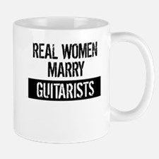 Real Women Marry Guitarists Mugs