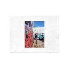 graffiti artist 5'x7'Area Rug