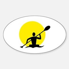 Unique Kayaking Decal