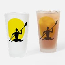 Unique Kayaking Drinking Glass