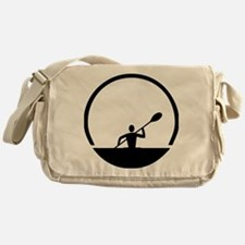 Cute Canoe Messenger Bag