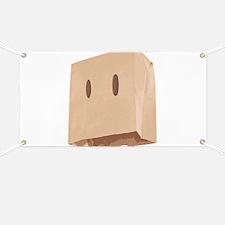 Paper Bag Mask Brown bag Banner