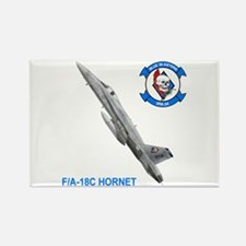 VFA-34 Blue Blasters Rectangle Magnet