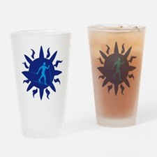 Unique Crosscountry Drinking Glass