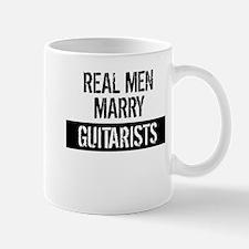 Real Men Marry Guitarists Mugs
