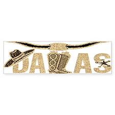 Dallas - Bumper Bumper Sticker