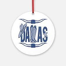 Dallas - Ornament (Round)