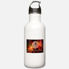 Happy New Year Clock Water Bottle