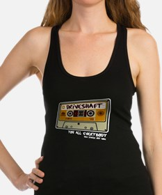 Funny Driveshaft Racerback Tank Top