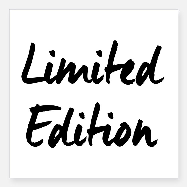 """Limited Edition Square Car Magnet 3"""" x 3"""""""