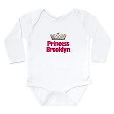 Cute Brooklyn kids Long Sleeve Infant Bodysuit