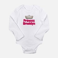 Cute Brooklyn kids Long Sleeve Infant Bodysuit