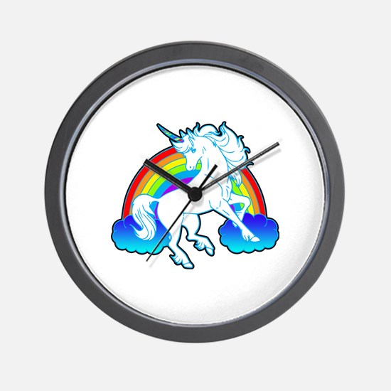 Funny Clouds Wall Clock