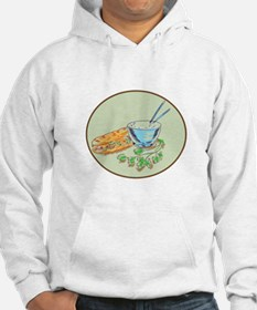 Bánh Mì Sandwich and Rice Bowl Drawing Hoodie