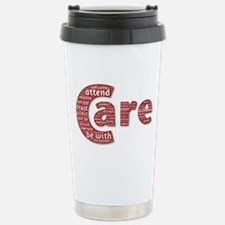 Words of Care Stainless Steel Travel Mug