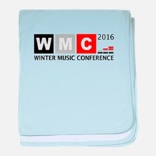 WMC 2016 Winter Music Conference baby blanket