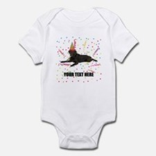 Custom Chocolate Lab Infant Bodysuit