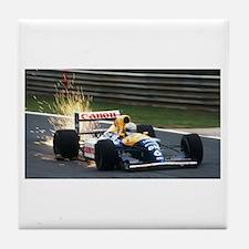 F1 Sparks Tile Coaster