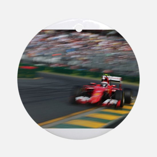 F1Blur Round Ornament