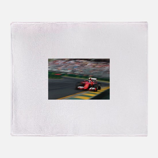 F1Blur Throw Blanket
