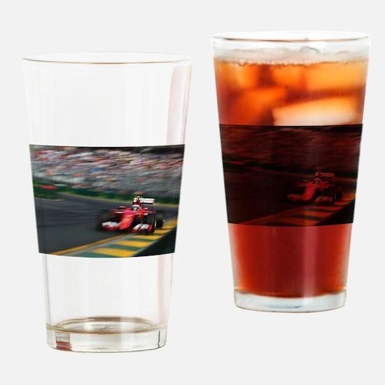 F1Blur Drinking Glass