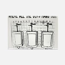 Cute Urinal Rectangle Magnet (10 pack)