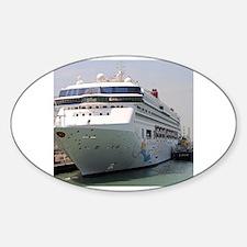 Cute Bon voyage Sticker (Oval)