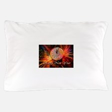 Happy New Year Clock Pillow Case