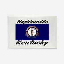 Hopkinsville Kentucky Rectangle Magnet