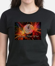 Happy New Year Clock T-Shirt