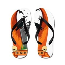 Funny October holidays Flip Flops