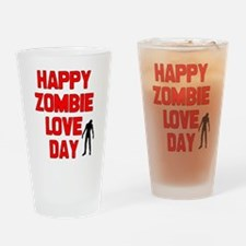 Zombie Love Drinking Glass