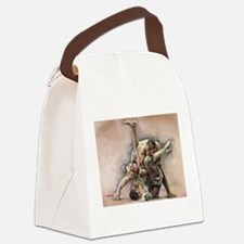Ultimate Fighting Canvas Lunch Bag