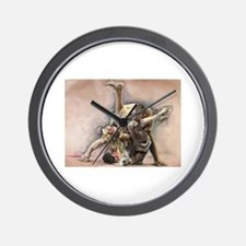 Ultimate Fighting Wall Clock