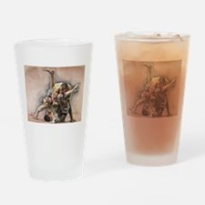 Ultimate Fighting Drinking Glass