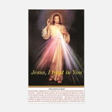 Funny Jesus i trust in you Sticker (Rectangle)
