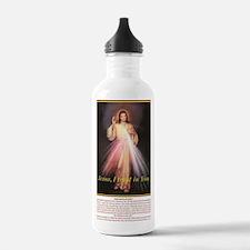 Cute Trust jesus Water Bottle
