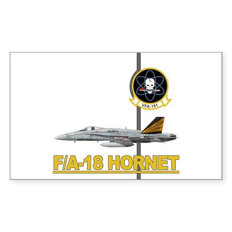 VFA-151 Vigilantes Rectangle Sticker