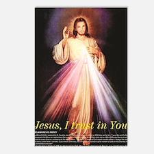 Cute Black jesus Postcards (Package of 8)