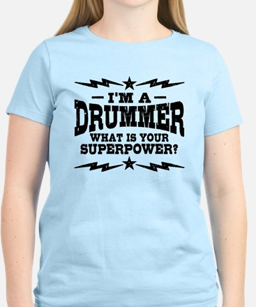 Funny Drummer Women's Light T-Shirt