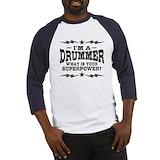 Drummer Baseball Tees & Raglans