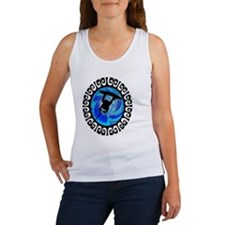 Cute Wakeboarding Women's Tank Top