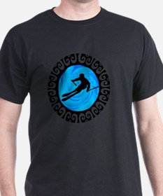 Cool Back country ski T-Shirt