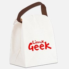 Linux Geek Canvas Lunch Bag