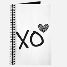 Xo Hearts For Love And Valentine's Day Journal