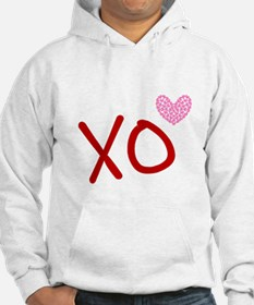 Xo Hearts (red) Love & Valentine Hoodie Sweatshirt