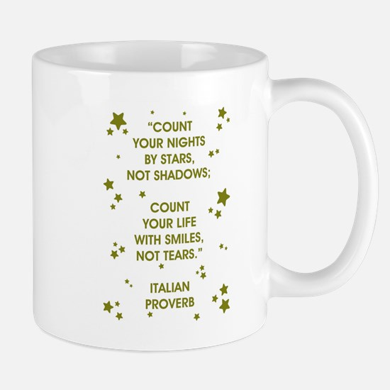 COUNT YOUR LIFE... Mugs