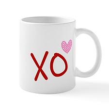 Xo Hearts (red) Love & Valentine's Day Mug