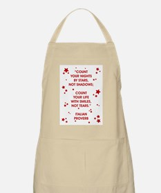 COUNT YOUR LIFE... Apron