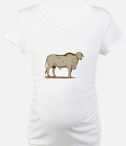 Brahman Bull Drawing Shirt